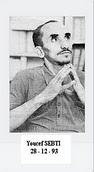 Youcef SEBTI : Agronome et écrivain poète, est assassiné dans la nuit du 27 - 28 décembre 1993 dans son appartement de l'Institut agronomique d'El Harrach (Alger).