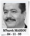 MAHIOU M'barek.